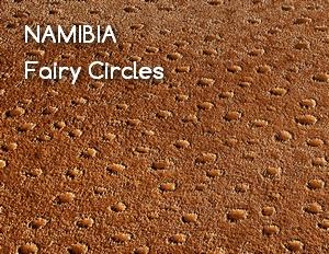 Namibijskie Fairy Circles (Tajemnicze Kręgi)
