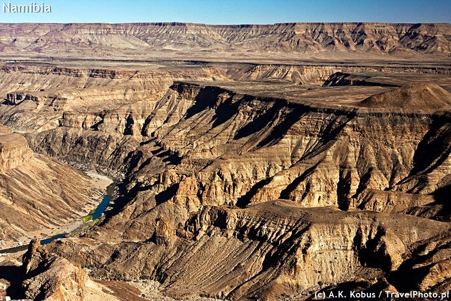 Fish River Canyon - potęga przyrody.