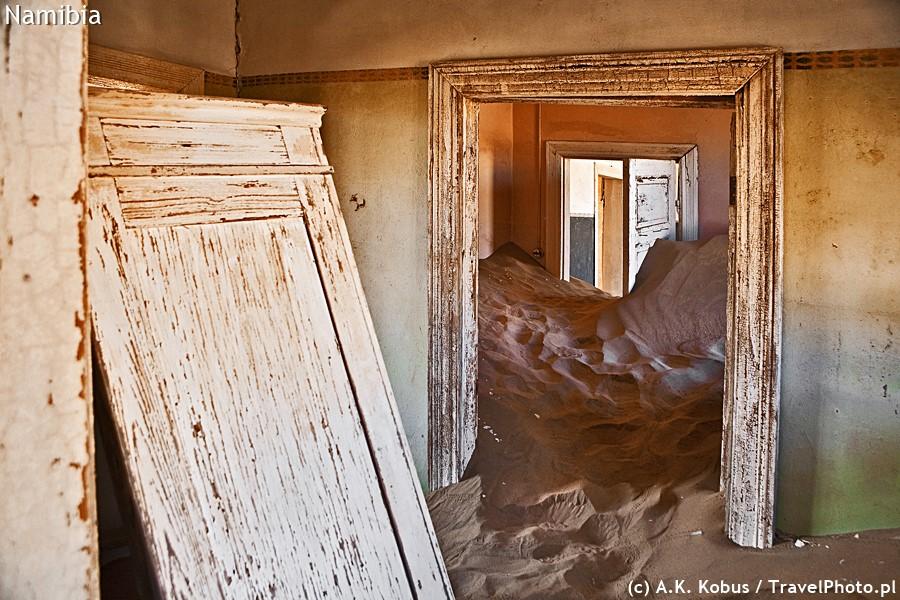 Kolmanskop - miasto duchów.