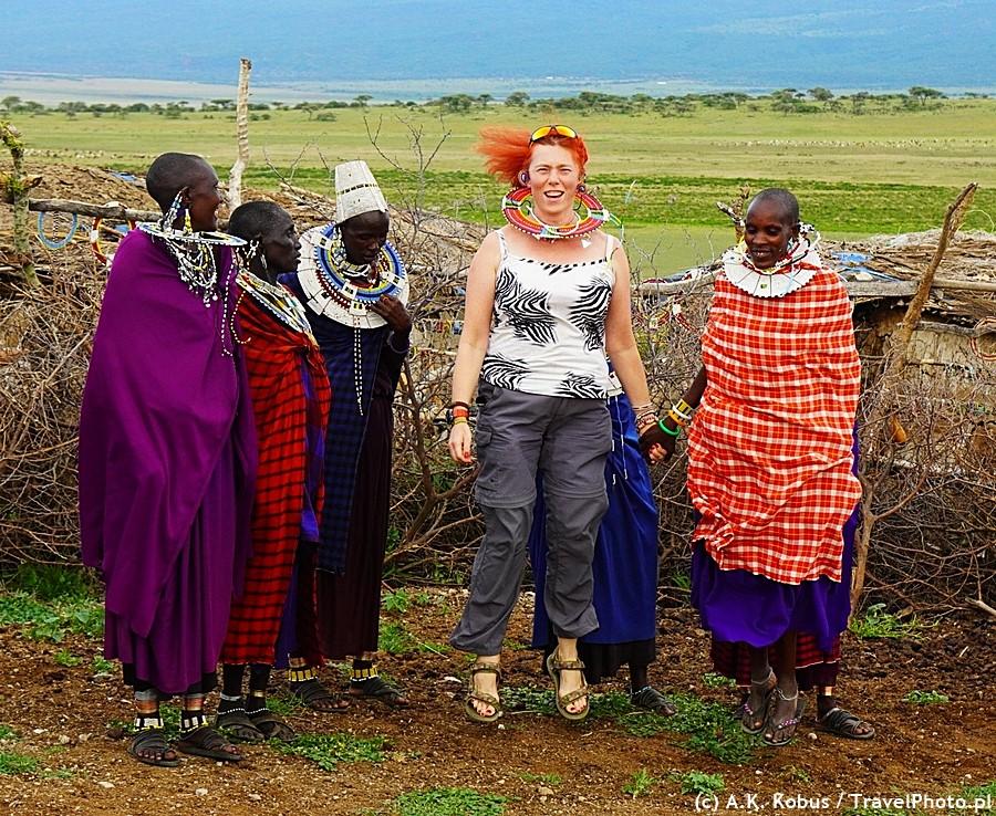 Tańcząc z Masajkami.