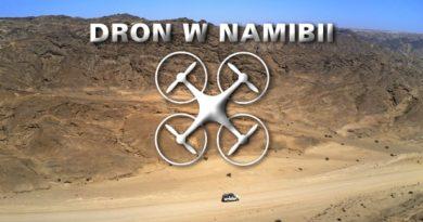 DRON W NAMIBII